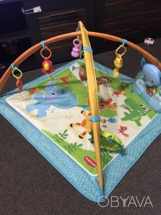 Продам развивающий коврик Tiny Love,в хорошем состоянии .Из игрушек на нем-проре. Харьков, Харьковская область. фото 1