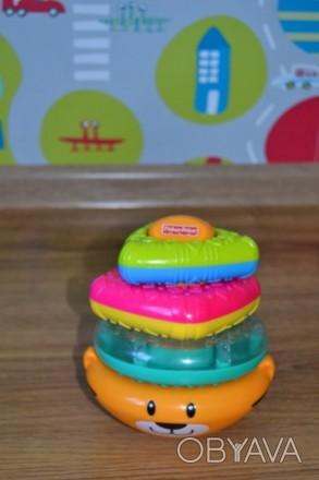 В хорошем состоянии Очень увлекательная игрушка, все элементы разных форм, цвето. Киев, Киевская область. фото 1