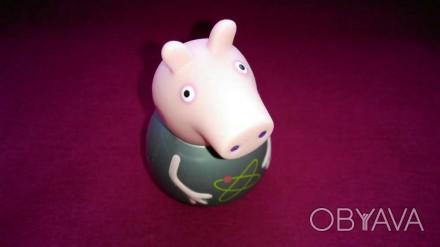 Свинка Пеппа игрушка неваляшка. Peppa Pig от компании Hasbro. Размер 6 см. Made . Александрия, Кировоградская область. фото 1