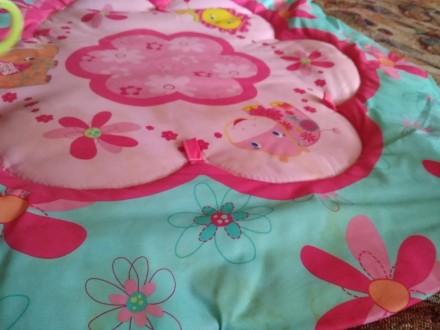 Очень классный яркий коврик, материал - текстиль, размеры 70*60, в комплекте 2 д. Киев, Киевская область. фото 4