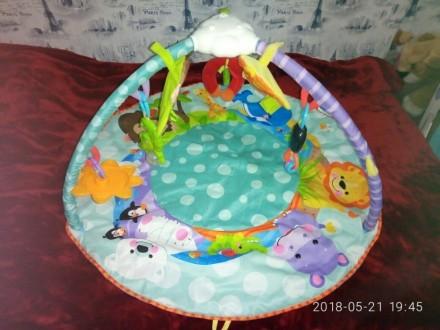 Продам детский развивающий коврик.Единственный минус—не все игрушки в комплекте.. Запорожье, Запорожская область. фото 4