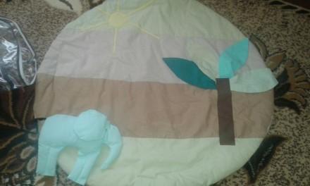 Продам развивающий коврик для ребенка, сверху мягкие игрушки, но можно вешать лю. Дубно, Рівненська область. фото 5