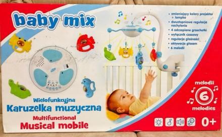 Музыкальная карусель Baby Mix разработана специально для убаюкивания малыша. Для. Одесса, Одесская область. фото 2