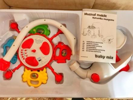 Музыкальная карусель Baby Mix разработана специально для убаюкивания малыша. Для. Одесса, Одесская область. фото 4