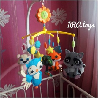 Мобиль - одна из первых игрушек Вашего малыша , рекомендованная педиатром для ра. Мирноград (Димитрів), Донецька область. фото 2