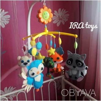 Мобиль - одна из первых игрушек Вашего малыша , рекомендованная педиатром для ра. Мирноград (Димитрів), Донецька область. фото 1