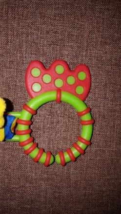 Замечательная игрушка-погремушка на коляску, в отличном состоянии. Ножки и ушки . Днепр, Днепропетровская область. фото 4