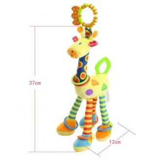 Замечательная игрушка-погремушка на коляску, в отличном состоянии. Ножки и ушки . Днепр, Днепропетровская область. фото 6