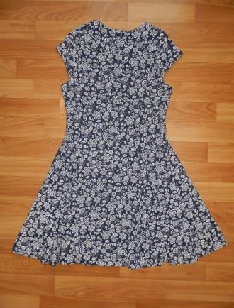 Продам красивое трикотажное платье Marks&Spencer р.152. Красиво садится по фигур. Южний, Одеська область. фото 4