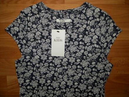 Продам красивое трикотажное платье Marks&Spencer р.152. Красиво садится по фигур. Южний, Одеська область. фото 3
