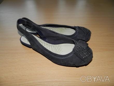Продам оригинальные, стильные босоножки Clarks р.4D (наш 37-ой, на узкую и норма. Южний, Одеська область. фото 1