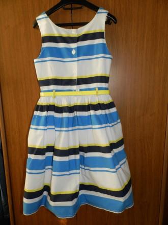 Продам стильное нарядное платье Next р.134 б/у в отличном состоянии. Платье полн. Южный, Одесская область. фото 4