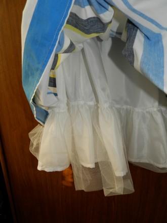 Продам стильное нарядное платье Next р.134 б/у в отличном состоянии. Платье полн. Южный, Одесская область. фото 5
