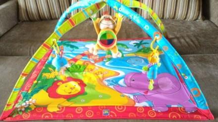 Развивающий коврик Tiny Love 0+ Monkey Island. Свет и музыка. 18 развивающих игр. Переяслав-Хмельницкий, Киевская область. фото 2