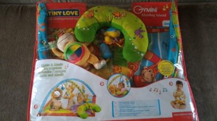 Развивающий коврик Tiny Love 0+ Monkey Island. Свет и музыка. 18 развивающих игр. Переяслав-Хмельницкий, Киевская область. фото 3
