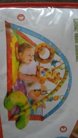 Развивающий коврик Tiny Love 0+ Monkey Island. Свет и музыка. 18 развивающих игр. Переяслав-Хмельницкий, Киевская область. фото 4