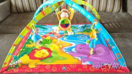 Развивающий коврик Tiny Love 0+ Monkey Island. Свет и музыка. 18 развивающих игр. Переяслав-Хмельницкий, Киевская область. фото 1