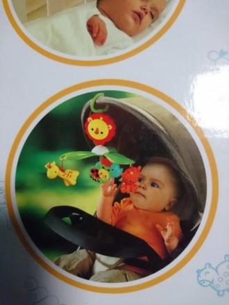 Мобиль детский для новородженных 0-5 мес. Отличный подарок! Можно использовать в. Киев, Киевская область. фото 3