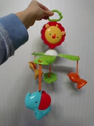 Мобиль детский для новородженных 0-5 мес. Отличный подарок! Можно использовать в. Киев, Киевская область. фото 5
