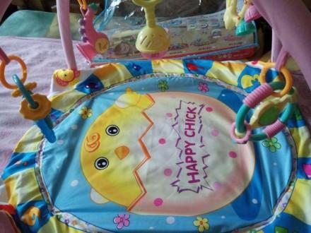 Продам очень красивый развивающий коврик для новорожденных.Подойдет как для дево. Кременная, Луганская область. фото 3