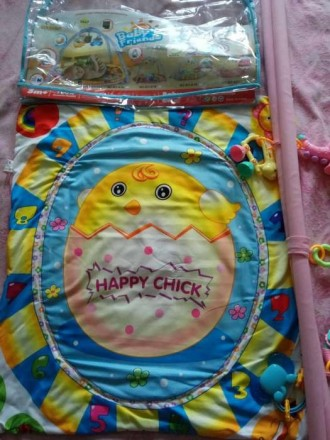 Продам очень красивый развивающий коврик для новорожденных.Подойдет как для дево. Кременная, Луганская область. фото 2