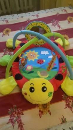Игровой коврик для детей от 0 и старше ,состояние идеальное пользовались только . Краматорськ, Донецька область. фото 3