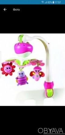 Детский мобиль tiny love в хорошем состоянии,без коробки,можно крепить как на кр. Херсон, Херсонська область. фото 1