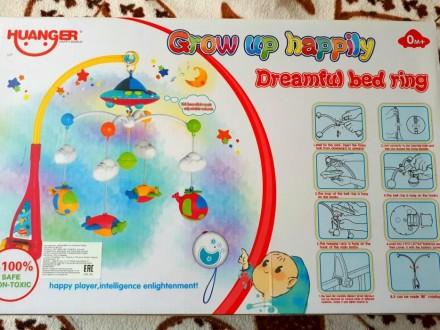 Продается замечательный мобиль для малыша. Мобиль помогает развивать воображение. Нова Каховка, Херсонська область. фото 4