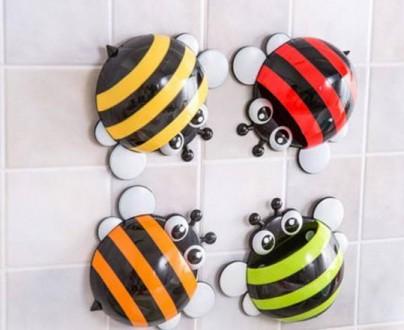 Тримачі-бджілки для зубної пасти, косметичного або канцелярського приладдя. Львов. фото 1