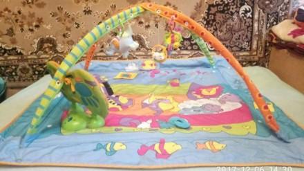 Развивающий коврик Tiny Love!!! Игрушка которая просто обязана быть у каждого ма. Харків, Харківська область. фото 2