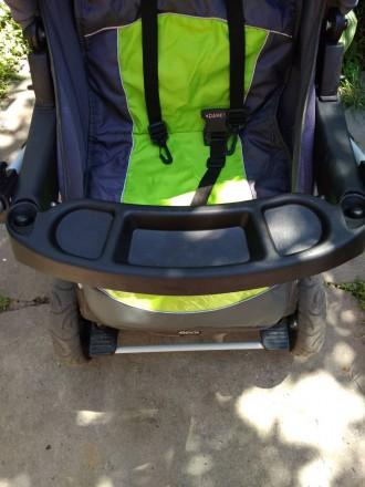 Детская коляска,зима -лето,в хорошем состоянииЦвет яркий не выгоревший.Колеса не. Запоріжжя, Запорізька область. фото 4