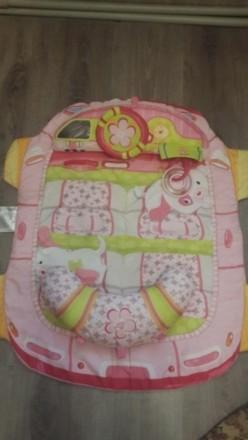 Продам детский развивающий корик. Состоит из коврика и 2 подушечек. К одной креп. Херсон, Херсонская область. фото 2