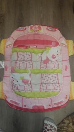 Продам детский развивающий корик. Состоит из коврика и 2 подушечек. К одной креп. Херсон, Херсонская область. фото 3
