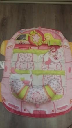 Продам детский развивающий корик. Состоит из коврика и 2 подушечек. К одной креп. Херсон, Херсонская область. фото 4