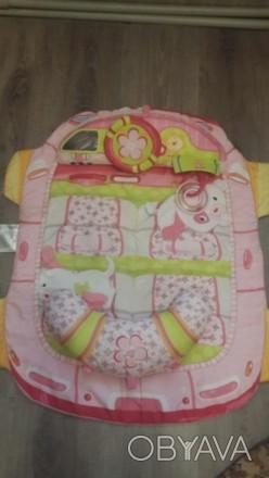 Продам детский развивающий корик. Состоит из коврика и 2 подушечек. К одной креп. Херсон, Херсонская область. фото 1