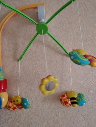 Продам механическую мобиль Baby Team Танец бабочек. Покупалась для одного ребенк. Київ, Київська область. фото 2