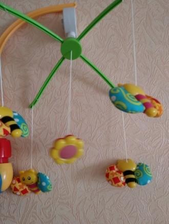Продам механическую мобиль Baby Team Танец бабочек. Покупалась для одного ребенк. Київ, Київська область. фото 4