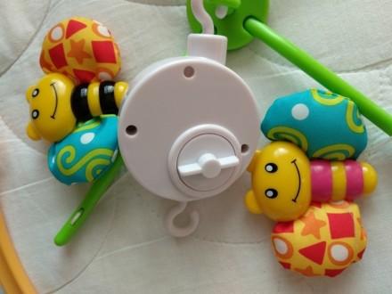 Продам механическую мобиль Baby Team Танец бабочек. Покупалась для одного ребенк. Київ, Київська область. фото 5