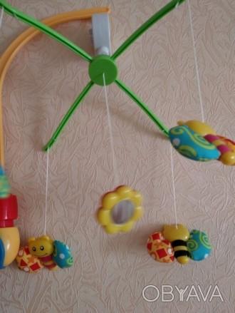 Продам механическую мобиль Baby Team Танец бабочек. Покупалась для одного ребенк. Київ, Київська область. фото 1