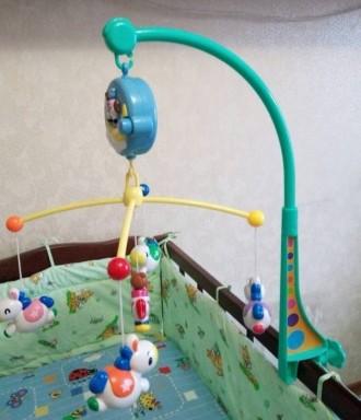 Продам детский музыкальный мобиль на кроватку. Работает от батареек, громкость р. Одесса, Одесская область. фото 4