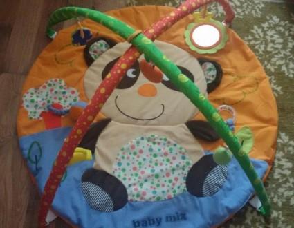 Продам наш любимый развивающий коврик Ваby Mix Панда в идеальном состоянии. Мягк. Харків, Харківська область. фото 3