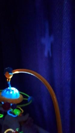 Музыкальный мобиль на кроватку с ночником,который создает проекцию звездного неб. Харків, Харківська область. фото 3