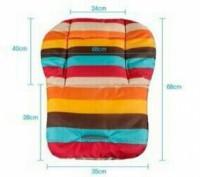 Новый матрасик вкладка, наполнитель синтепон, ткань плащевка . Размер универсаль. Одеса, Одеська область. фото 4