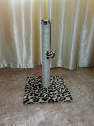 Когтеточка для котов Столбик 52 см. Дніпро. фото 1
