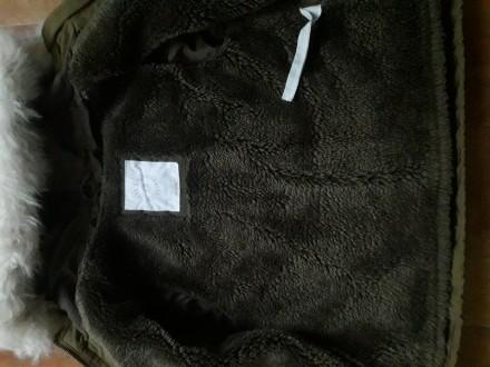 Куртка парка в отличном состоянии. Мех внутри и на капюшоне отстегивается.. Кременчуг, Полтавская область. фото 3