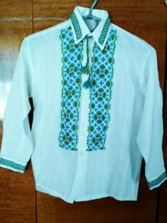 Сорочка вишита, вишиванка. Сокаль. фото 1