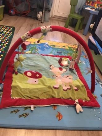 Развивающейся коврик для вашей малышки! В отличном состоянии! Все шелестит, звен. Одесса, Одесская область. фото 2