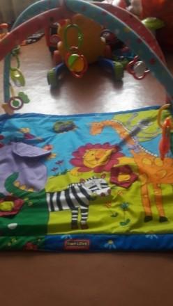 Продам развивающий коврик в идеальном состоянии.Как новый.Идеальный вариант для . Суми, Сумська область. фото 4