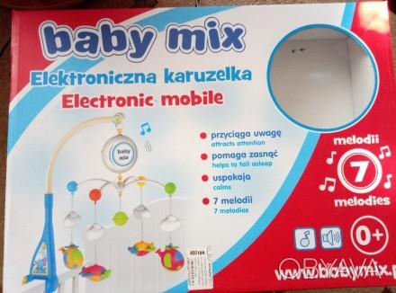 Продам мобиль в кроватку в идеальном состоянии. Есть коробка.Почти не пользовали. Киев, Киевская область. фото 1