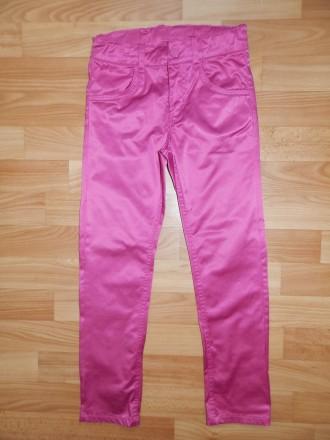 Яркие джинсы-скинни H&M р. 128. Южный. фото 1